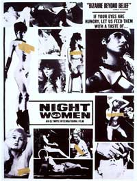 Night Women - 11 x 17 Movie Poster - Style A