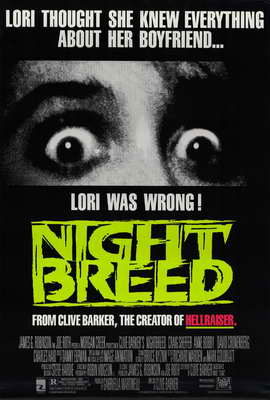 Nightbreed - 27 x 40 Movie Poster - Style A