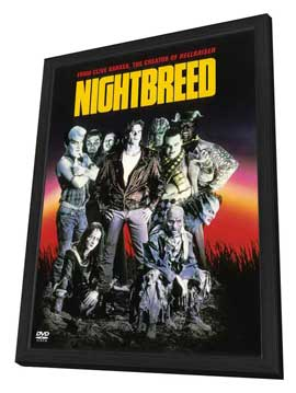 Nightbreed - 27 x 40 Movie Poster - Style B - in Deluxe Wood Frame