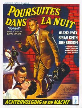 Nightfall - 27 x 40 Movie Poster - Belgian Style A