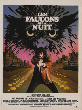 Nighthawks - 11 x 17 Movie Poster - French Style A