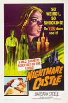 Nightmare Castle - 27 x 40 Movie Poster - Style A
