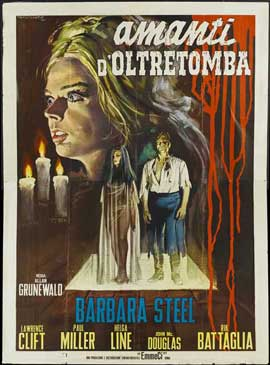 Nightmare Castle - 11 x 17 Movie Poster - Italian Style A
