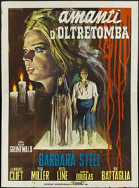 Nightmare Castle - 27 x 40 Movie Poster - Italian Style A