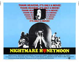 Nightmare Honeymoon - 22 x 28 Movie Poster - Half Sheet Style A