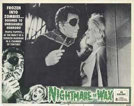 Nightmare in Wax - 11 x 14 Movie Poster - Style F