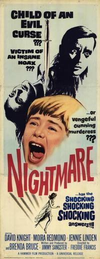 Nightmare - 14 x 36 Movie Poster - Insert Style A