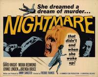 Nightmare - 22 x 28 Movie Poster - Half Sheet Style A