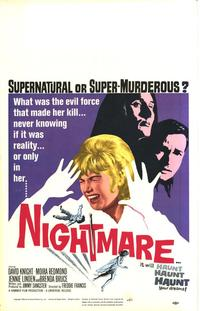 Nightmare - 11 x 17 Movie Poster - Style B