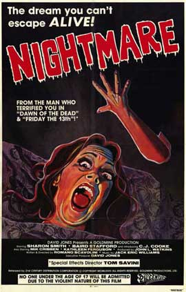 Nightmare - 11 x 17 Movie Poster - Style A