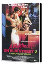 A Nightmare on Elm Street 2: Freddy's Revenge - 11 x 17 Movie Poster - Style A - Museum Wrapped Canvas