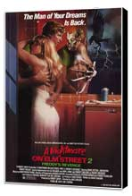 A Nightmare on Elm Street 2: Freddy's Revenge - 27 x 40 Movie Poster - Style A - Museum Wrapped Canvas