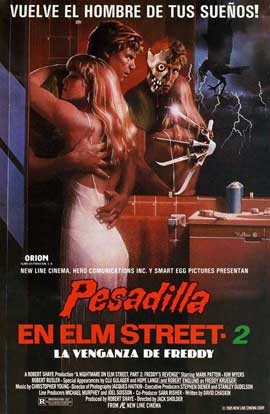 A Nightmare on Elm Street 2: Freddy's Revenge - 27 x 40 Movie Poster - Spanish Style A