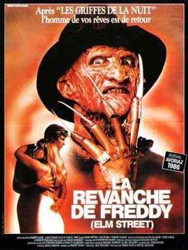 A Nightmare on Elm Street 2: Freddy's Revenge - 11 x 17 Movie Poster - French Style A