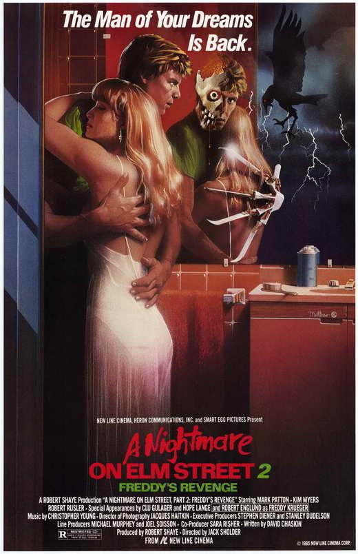 Nightmare On Elm Street 2 Poster A Nightmare on Elm Street 2