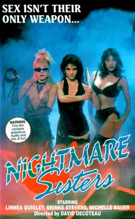 Nightmare Sisters - 11 x 17 Movie Poster - Style A