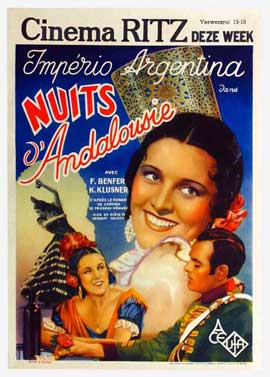 Nights in Andalusia - 11 x 17 Movie Poster - Belgian Style A