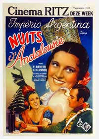 Nights in Andalusia - 27 x 40 Movie Poster - Belgian Style A