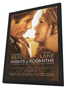 Nights in Rodanthe - 11 x 17 Movie Poster - Style A - in Deluxe Wood Frame