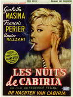 Nights of Cabiria - 11 x 17 Movie Poster - Style B