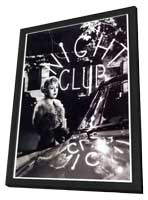 Nights of Cabiria - 11 x 17 Movie Poster - Italian Style A - in Deluxe Wood Frame