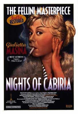 Nights of Cabiria - 11 x 17 Movie Poster - Style A