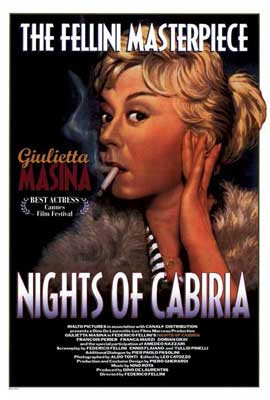 Nights of Cabiria - 27 x 40 Movie Poster