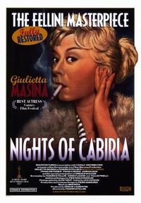 Nights of Cabiria - 43 x 62 Movie Poster - Bus Shelter Style A