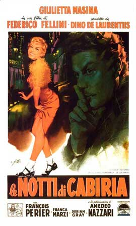 Nights of Cabiria - 11 x 17 Movie Poster - Italian Style B