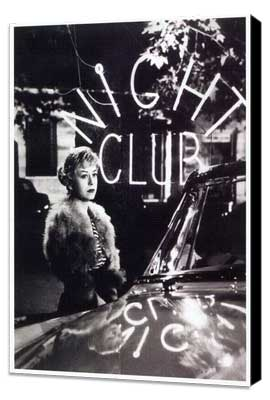 Nights of Cabiria - 27 x 40 Movie Poster - Italian Style A - Museum Wrapped Canvas