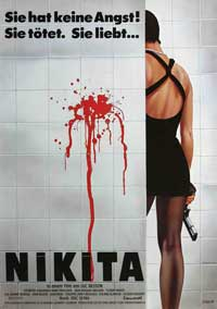 Nikita - 11 x 17 Movie Poster - German Style A