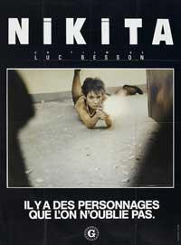 Nikita - 11 x 17 Movie Poster - French Style A