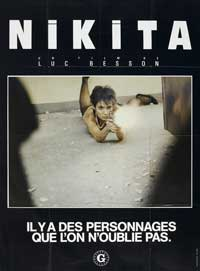 Nikita - 27 x 40 Movie Poster - French Style A