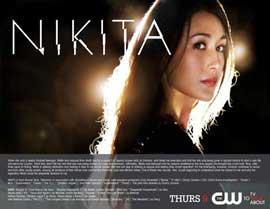 Nikita (TV) - 11 x 14 TV Poster - Style A