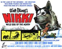 Nikki Wild Dog of the North - 22 x 28 Movie Poster - Half Sheet Style A