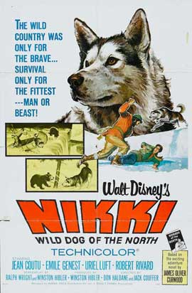 Nikki Wild Dog of the North - 11 x 17 Movie Poster - Style B