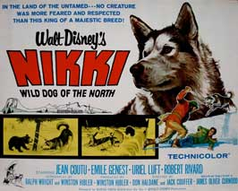 Nikki Wild Dog of the North - 11 x 17 Movie Poster - Style C