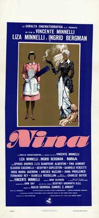 Nina - 13 x 28 Movie Poster - Italian Style A