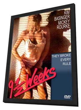 Nine 1/2 Weeks - 11 x 17 Movie Poster - Style B - in Deluxe Wood Frame