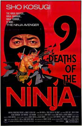 Nine Deaths of the Ninja - 11 x 17 Movie Poster - Style A