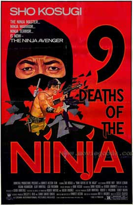 Nine Deaths of the Ninja - 27 x 40 Movie Poster - Style A