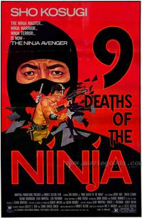 Nine Deaths of the Ninja - 43 x 62 Movie Poster - Bus Shelter Style A