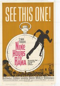 Nine Hours to Rama - 27 x 40 Movie Poster - Style A