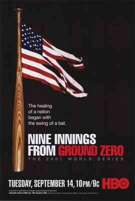 Nine Innings from Ground Zero - 11 x 17 Movie Poster - Style A