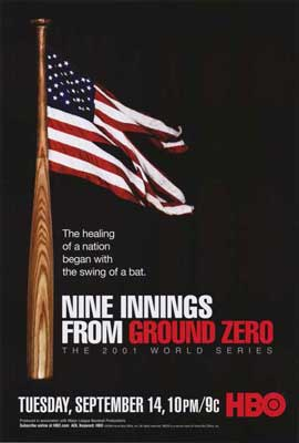 Nine Innings from Ground Zero - 27 x 40 Movie Poster - Style A