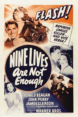 Nine Lives Are Not Enough - 27 x 40 Movie Poster - Style A