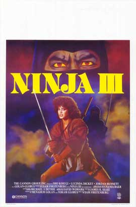 Ninja 3: The Domination - 27 x 40 Movie Poster - Belgian Style A