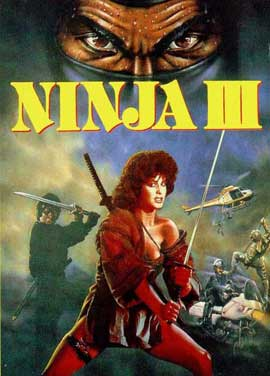 Ninja 3: The Domination - 11 x 17 Movie Poster - Style B