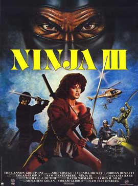 Ninja 3: The Domination - 11 x 17 Movie Poster - Style C