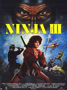 Ninja 3: The Domination - 43 x 62 Movie Poster - Bus Shelter Style A